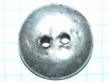 Гражданская пуговица периода РИ Standard Colour TB (тройное серебрение), фото №5