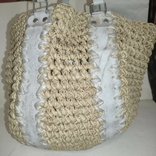 Плетеная сумка, фото №2