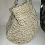 Плетеная сумка, фото №3