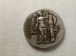 Монета Древняя Греция копия С52, фото №2