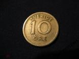 Швеция 10 эре 1924 W, фото №2