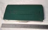 Клатч,цвет зелёный 50-60-е, фото №2