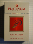 Сигареты PLATINUM FULL FLAVOR
