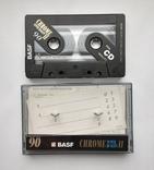 Аудиокассета BASF CHROME II 90, фото №2