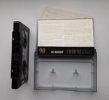 Аудиокассета BASF CHROME II 90, фото №6