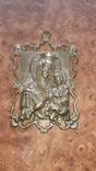 Бронзовая Икона Божья матерь. НИМОР, фото №9