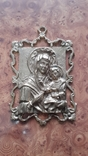 Бронзовая Икона Божья матерь. НИМОР, фото №2