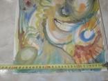 Картина А.Мельничук Азарт акварель 44х30 см, фото №9