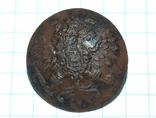 Пуговица с орлом периода РИ, СПБ БР Бух, отличный рельеф, фото №5