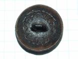 Пуговица с орлом периода РИ, СПБ БР Бух, отличный рельеф, фото №8