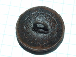 Пуговица с орлом периода РИ, СПБ БР Бух, отличный рельеф, фото №12