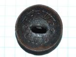 Пуговица с орлом периода РИ, СПБ БР Бух, отличный рельеф, фото №13