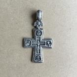 Федоровський Срібний натільний хрест (серебрянный крест), фото №3