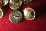 Пуговица СССР на военную форму, китель, шинель, фото №6