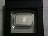 Год Кролика, ЧЕРНЫЙ КРОЛИК - унция, серебро 999, 1 доллар - 2011 - ПОЛНЫЙ КОМПЛЕКТ, фото №4