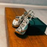 Серебряные боксерские перчатки, фото №2
