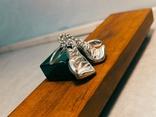 Серебряные боксерские перчатки, фото №10