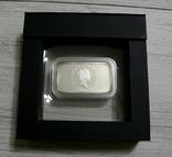 Год Кролика, ДВА БЕЛЫХ КРОЛИКА - унция, серебро 999, 1 доллар - 2011 - ПОЛНЫЙ КОМПЛЕКТ, фото №6