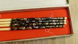 Китайские палочки с эмалями Клуазонне., фото №6