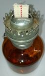 Лампа керосиновая СССР цветное стекло 1970-е годы керосинка, фото №7