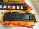 Железная дорога электромеханическая игрушка СССР. В коробке. 2, фото №10