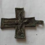 Крест кр серебро копия, фото №3