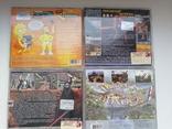 Игры для ПК, 10 шт., подставка для игр (для 25 шт), фото №6
