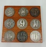 Номерные пуговицы вермахт, фото №3