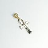 Золотой коптский крест с бриллиантами, фото №4