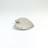 """Крупная серебряная подвеска """"сердце"""", Италия, """"MILOR"""", фото №4"""