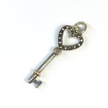 Серебряная подвеска ''ключик'' от TIFFANY&CO, фото №2