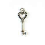 Серебряная подвеска ''ключик'' от TIFFANY&CO, фото №3