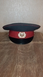 Милицейская фуражка СССР 89 год, фото №2