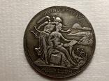 Медаль 1896 года ''В память 50-летия Финляндского общества художеств'' (копия), фото №2