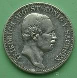 2 марки, 1908 год, Саксония., фото №2