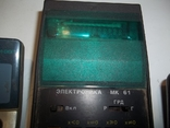Электронный калтькулятор электроника МК, фото №3