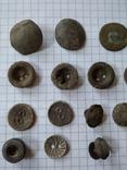 Старинные пуговицы, 29 шт, фото №3