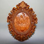 Резная икона Святая Троица, фото №2