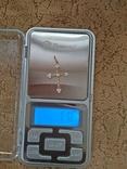 Крестик золотой проба 585 украинская вес 1,16 гр., фото №4