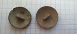 Две полковые пуговицы, фото №3
