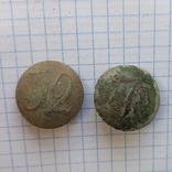 Две полковые пуговицы, фото №2