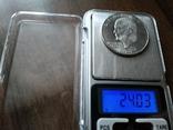 США 1 доллар 1971 S Эйзенхауэр / серебро, фото №4