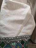 Жіноча вишиванка на домотканому полотні, фото №10