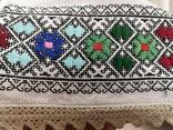 Жіноча вишиванка на домотканому полотні, фото №13