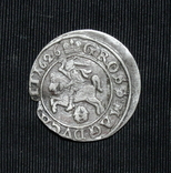 Грош 1626 Литва под Речью Посполитой, фото №3
