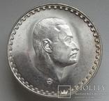 "1 фунт 1970 г. Египет "" Президент Насер "", серебро, фото №2"