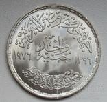 """1 фунт 1976 г. Египет """" ФАО """", серебро, фото №9"""