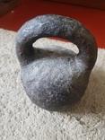 Гиря старинная вес 7,5 кг, фото №2