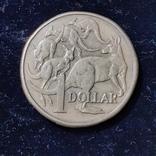 1 доллар 1985года, фото №3