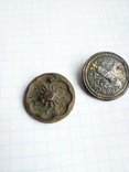 Две старые интересные пуговички, фото №3